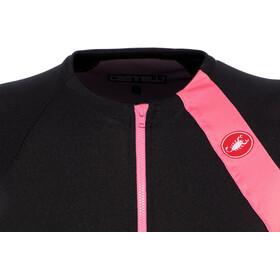 Castelli Scheggia 2 Maillot FZ Mujer, black/pink